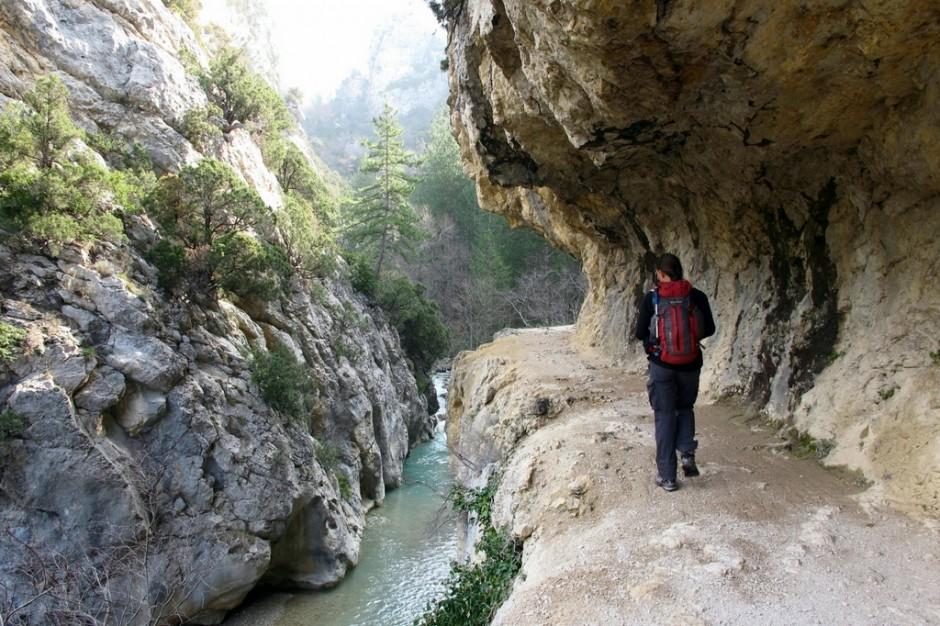 Découverte naturaliste dans les gorges de Trevans