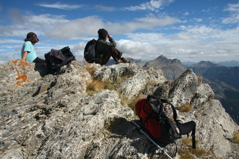 Les lacs de la Cayolle et le pas du Lausson 2645m